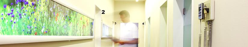 Behandlungsraum Dr. Hofmann